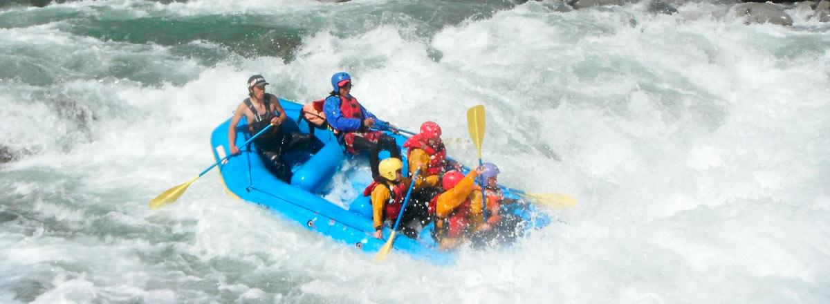 Rafting en el río Apurimac