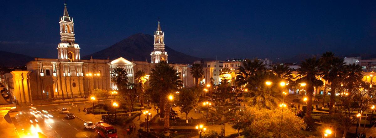 Tour Arequipa De Noche