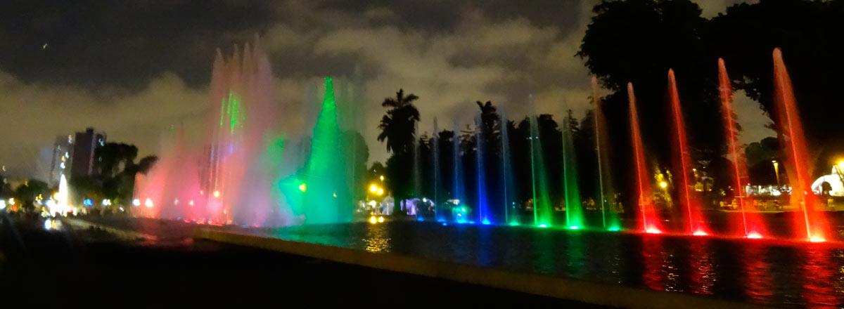 Tour fuentes de Lima